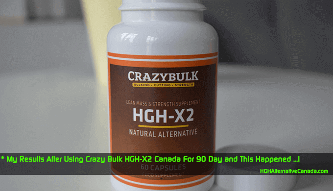 Sharing my Experience After Using Crazy Bulk HGH-X2 Canada for 90 days